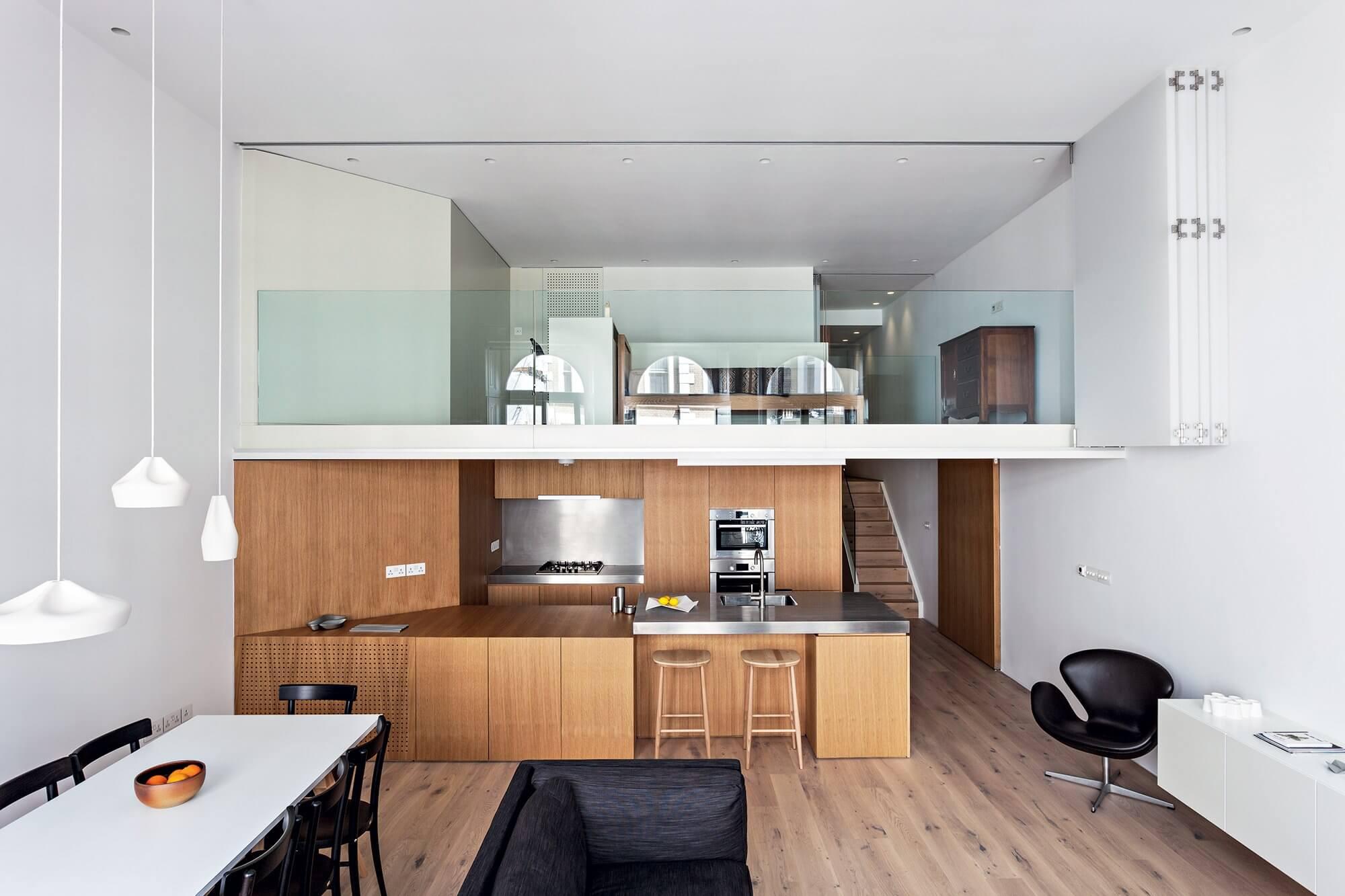 Recommended house design, mezzanine floor