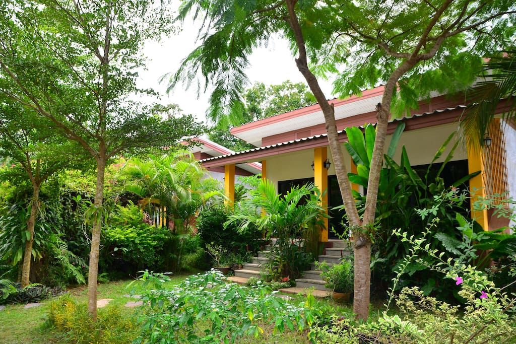 Recommend to decorate a shady garden house