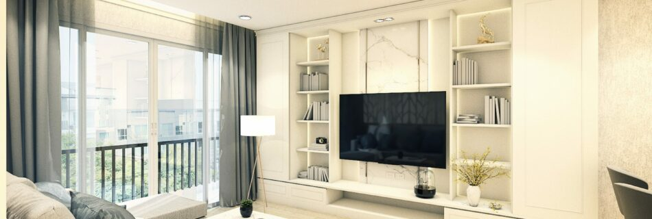 Guide to the built-in TV stand