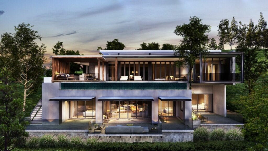 3 projects house in phuket for sale