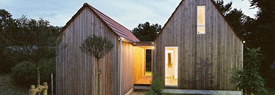 Construction information European style wooden house