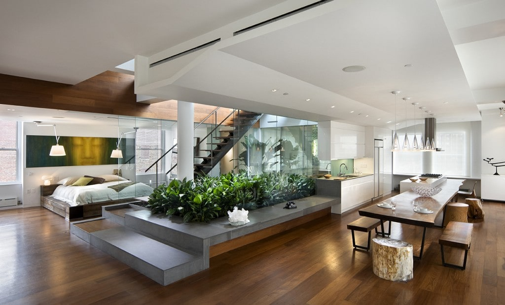 Guide to decorate a modern loft style house